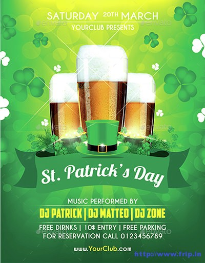 St-patrick-party-flyer