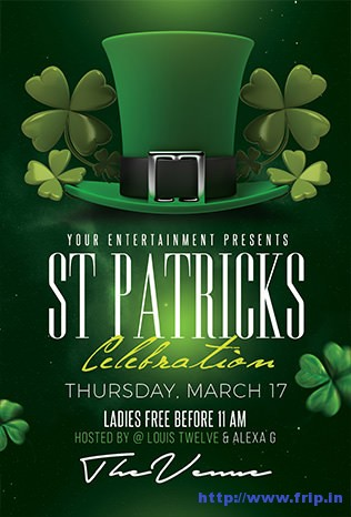 St-patricks-day-flyer-template-3