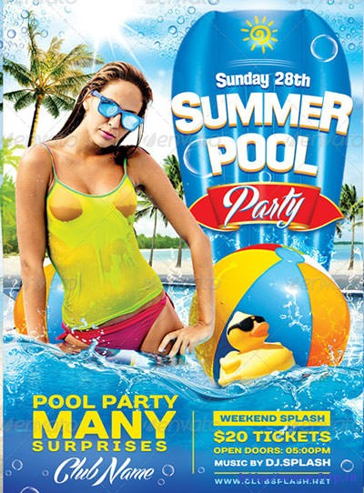 Summer-Pool-Party-Flyer-Templates