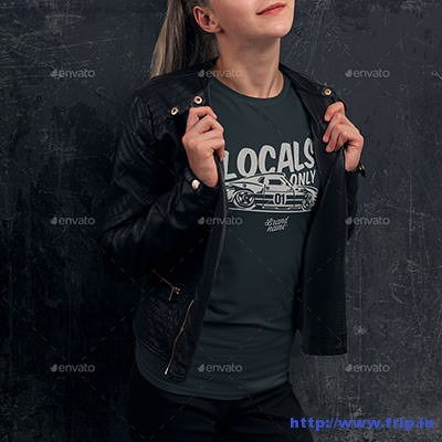 Teenage-Girl-T-–-Shirt-Mockup