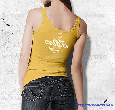 Women-Tank-T-–-Shirt-Mock-Up