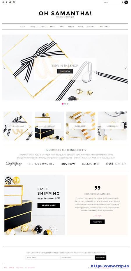 samantha-ecommerce-wordpress-theme