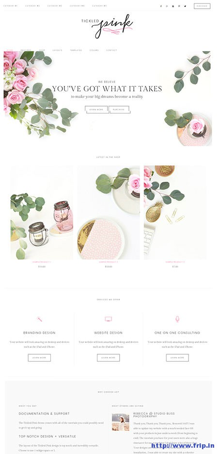tickled-pink-feminine-ecommerce-wordpress-theme