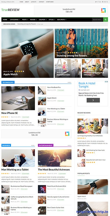 true-review-magazine-wordpress-theme