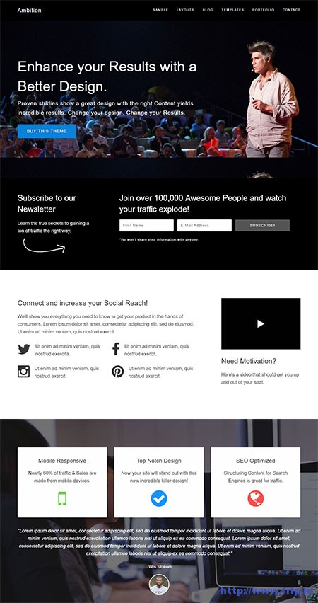 Ambition-wordpress-theme