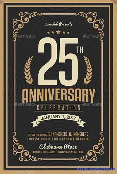 Anniversary-Celebration-Flyers