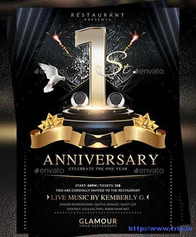 Anniversary-Flyer-Templates