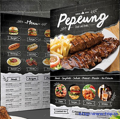 Black-Brick-Wall-Menu