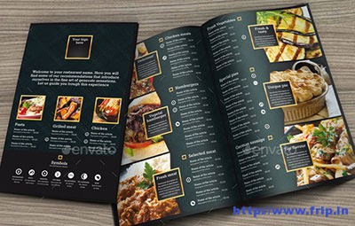 Black-and-Gold-Menu-Template