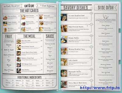 Bulletin-Food-Menu