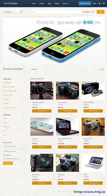 Classified-Engine-WordPress-Theme