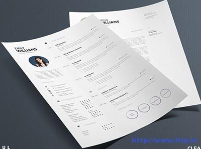 Clean-Resume-4