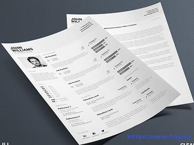 Clean-Resume-6