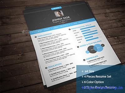 Creative-Resume-Vol 1