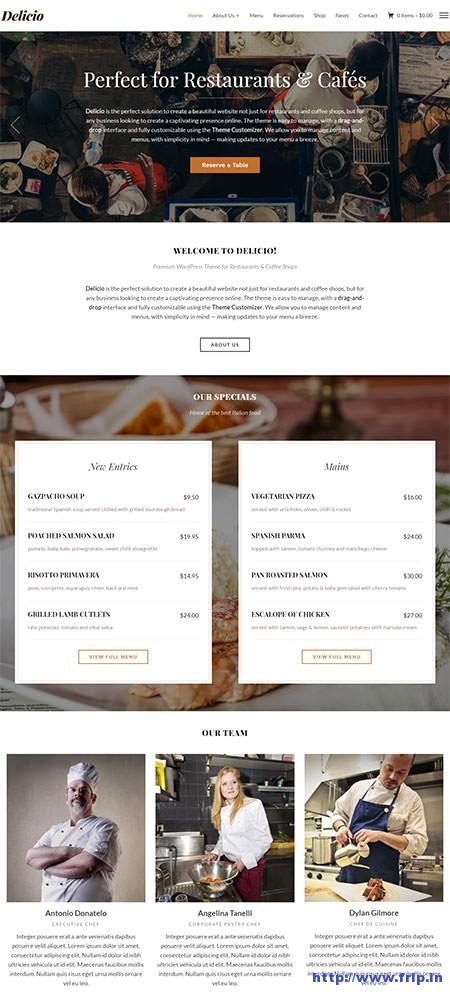 Delicio--Restaurant-WordPress-Theme