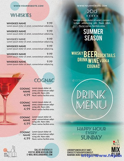 Drink-Menu-Summer-Season