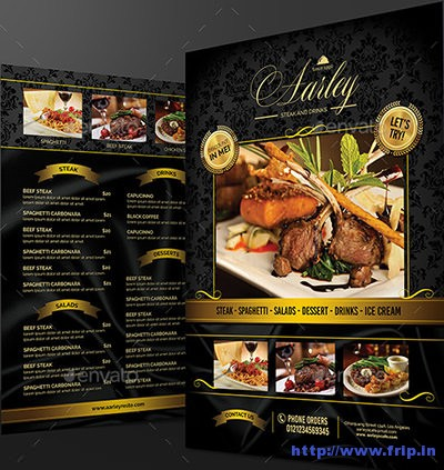 Elegant-Black-&-White-Restaurant-Menu