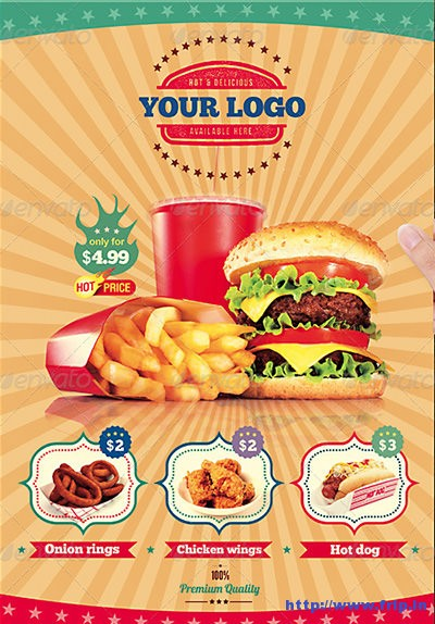 Fast-Food-Flyer-Menu-Restaurant