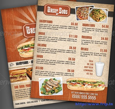Fast-Food-Menu-Flyer