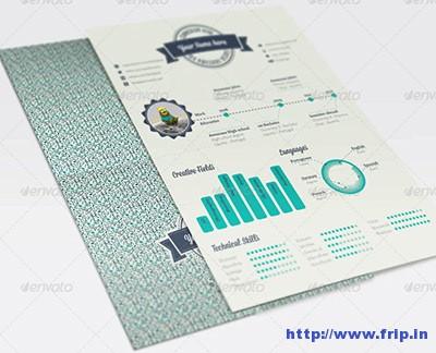 Geometric-Infographic-Resume