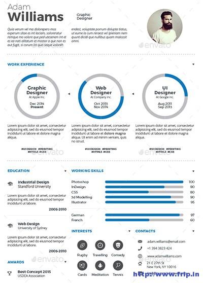 Infographic-Resume-Vol-3