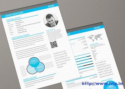 Minimalism-info-graphic-resume