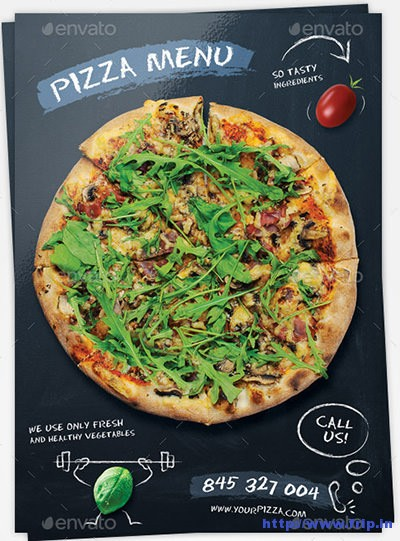 Pizza-Chalkboard-Menu