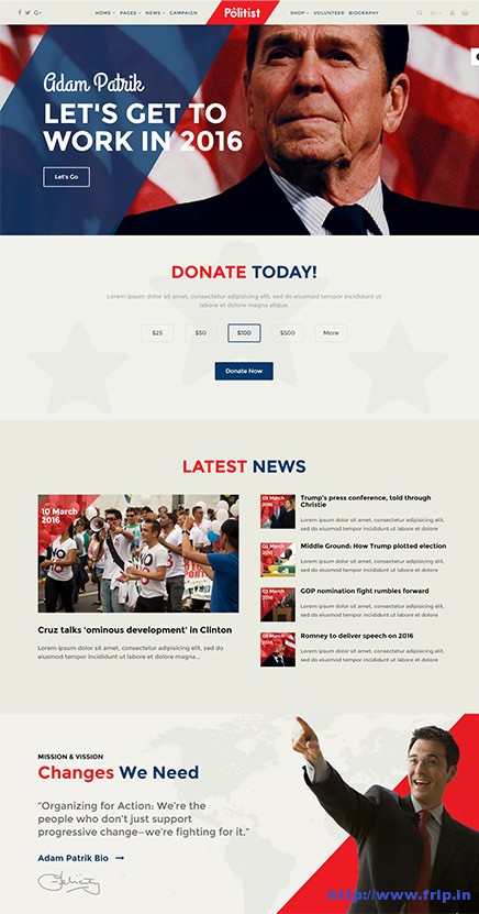 Politist-Political-Election-Campaigns-Template