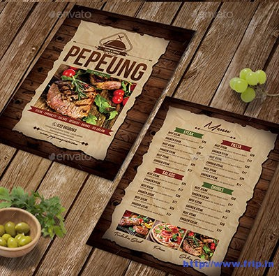 Rustic-Restaurant-Menu