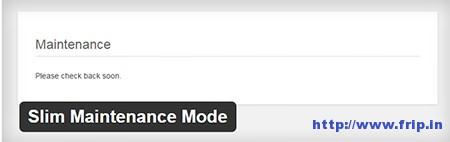 Slim-Maintenance-Mode-WordPress-Plugin