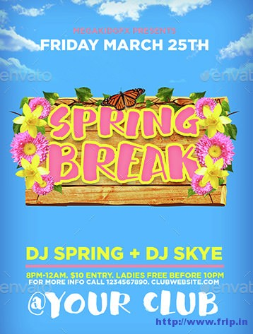 Spring-Break-Flyer-Template