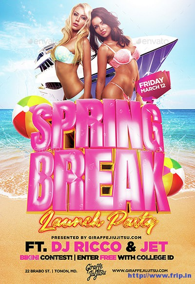 Spring-Break-Launch-Party-Flyer