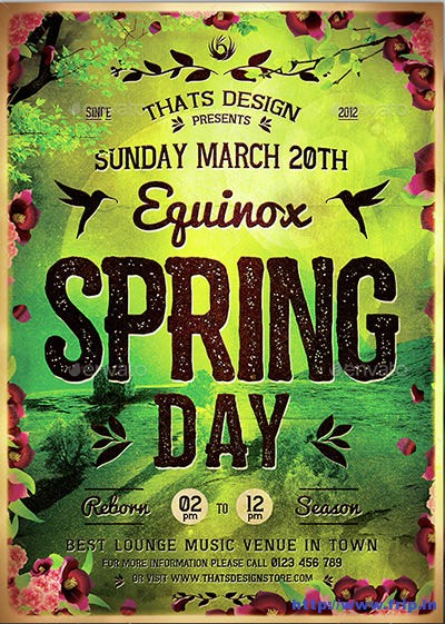 Spring-Equinox-Flyer-Template
