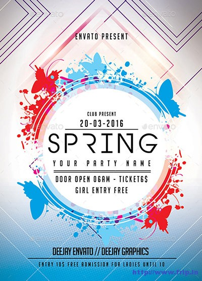 Spring-Flyer-Template