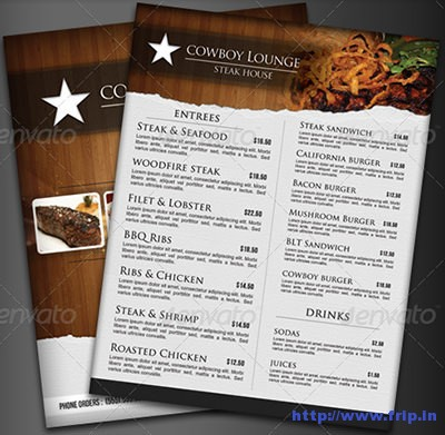 Steak-House-Menu-Flyer