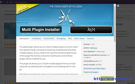 mutli-plugin-installer