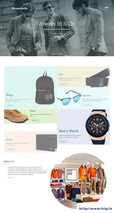 shopoholic-wordpress-ecommerce-theme