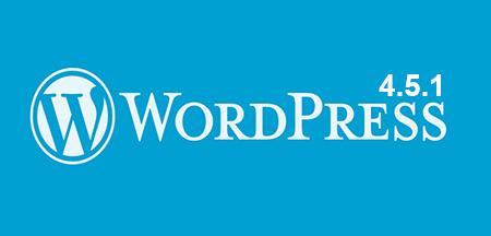 wordpress4.5.1-available