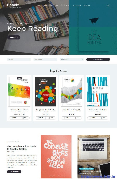 Bookie-Book-Store-WordPress-Theme