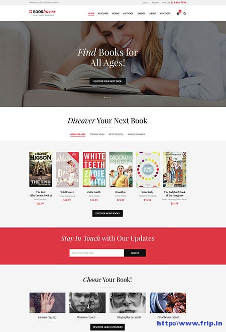 Booklovers-Book-Store-WordPress-Theme