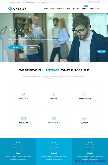 Creativ-Multipurpose-Joomla-Template