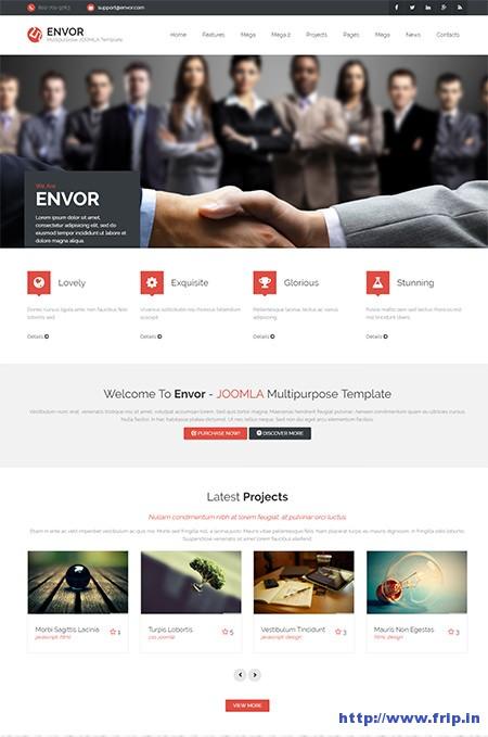 Envor-Multipurpose-Joomla-Template