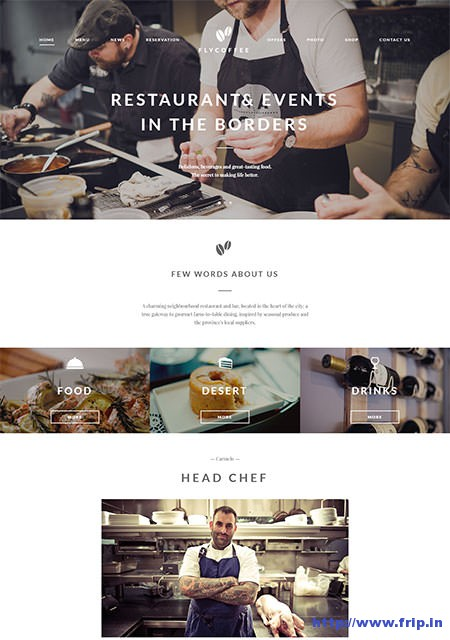 Flycoffee-Restaurant-WordPress-Theme