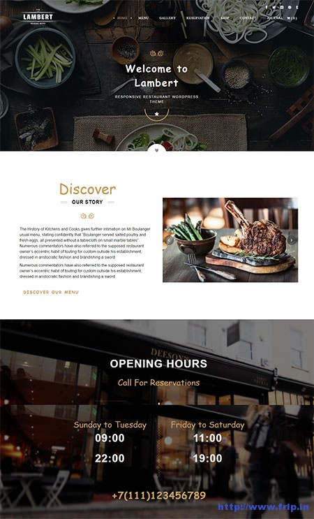 Lambert-Café-WordPress-Theme
