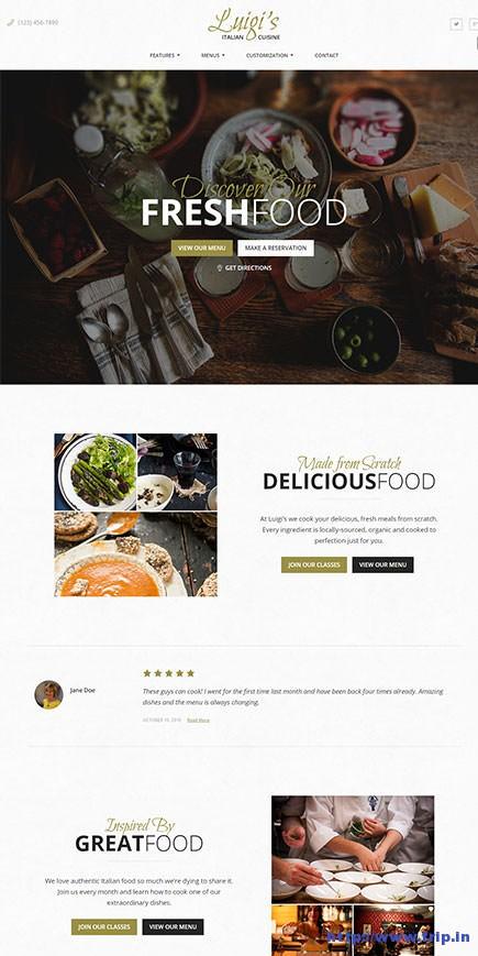 Luigi-restaurant-wordpress-theme