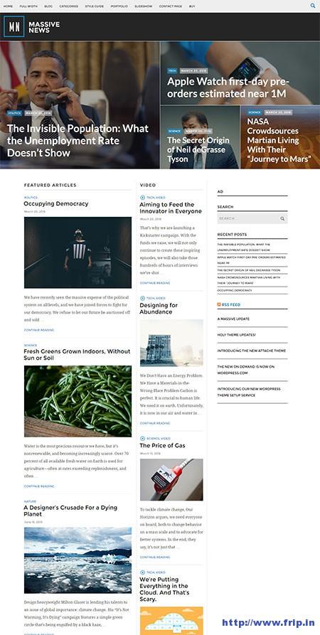 Massive-News-WordPress-Theme