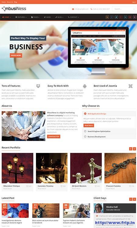 MbusiNess-Joomla-Business-Template