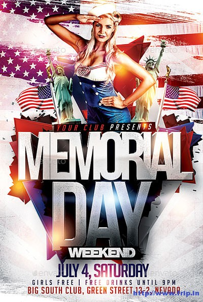 Memorial-Day-Flyer-PSD-Template