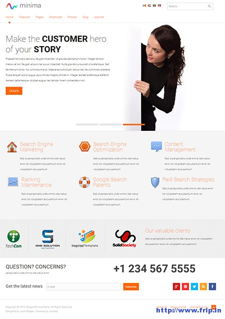 Minima-Joomla-Business-Template