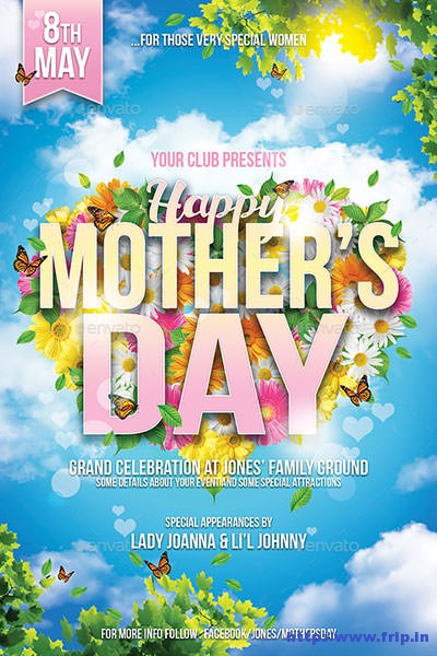 Mothers-Day-Flyer-Template